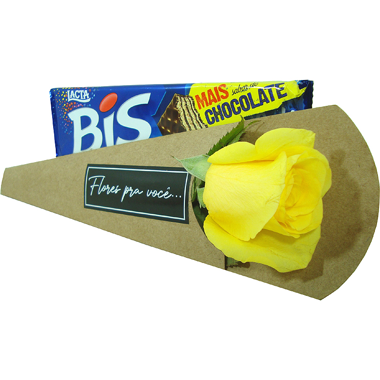 Rosa Amarela com Bis