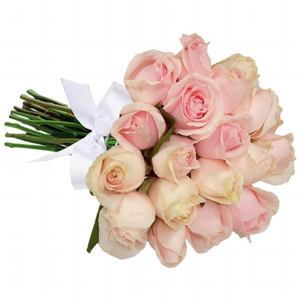 Buqu� 18 Rosas Cor de Rosa