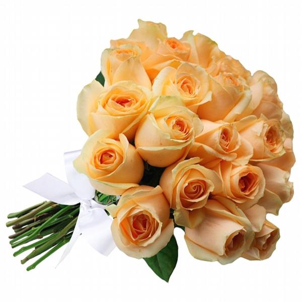 Buquê de Rosas Champanhe