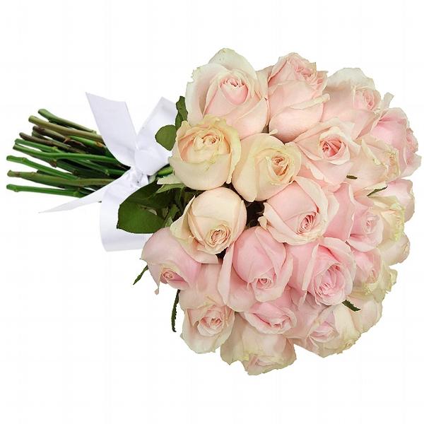 Buquê 24 Rosas Cor de Rosa