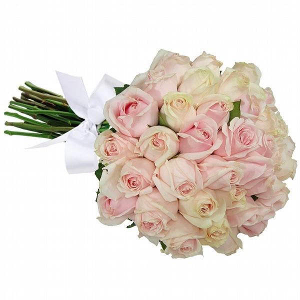 Buquê 36 Rosas Cor de Rosa