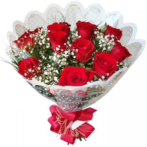 Buquê de Rosas Romântico