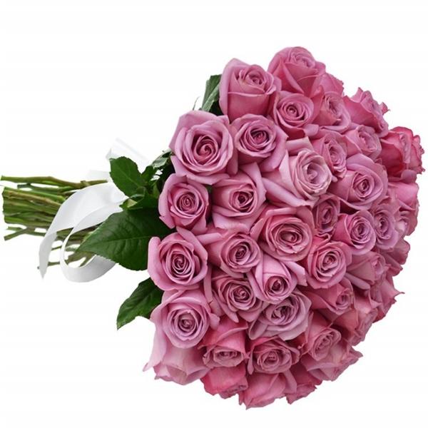 Buquê 40 Rosas Lilás