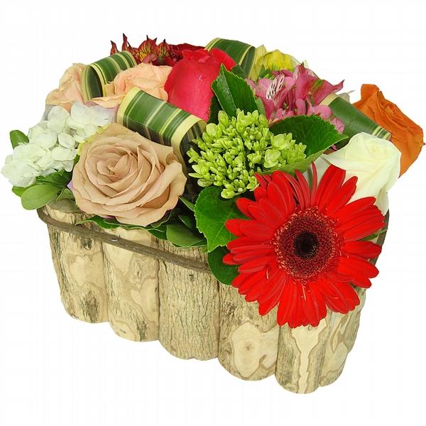 Mix de Flores Rústico