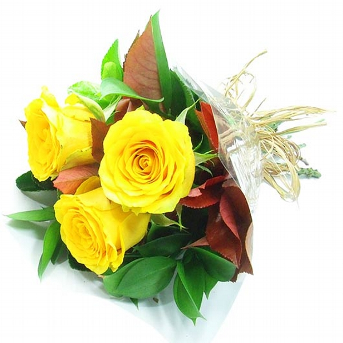 Arranjo de Rosas Amarela