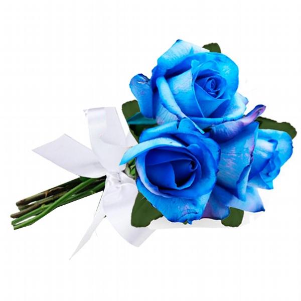 Arranjo de Rosas Azul