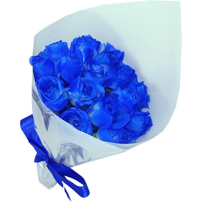 Buqu� de Rosas Azul