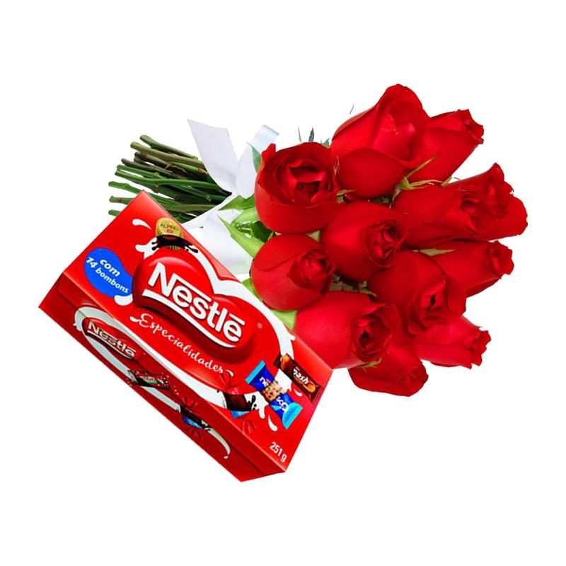 Buqu� e Chocolates Nestle