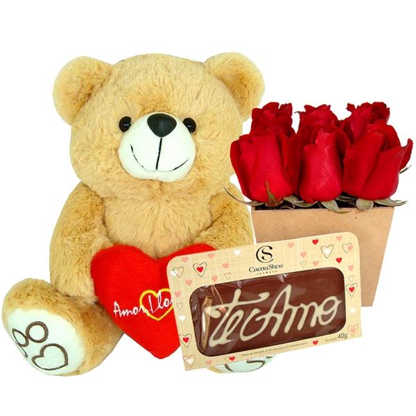 Fofucho com Flores e Chocolates