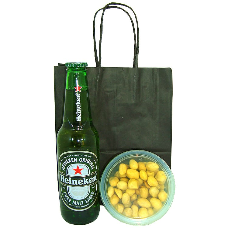 Heineken e Amendoim Japonês
