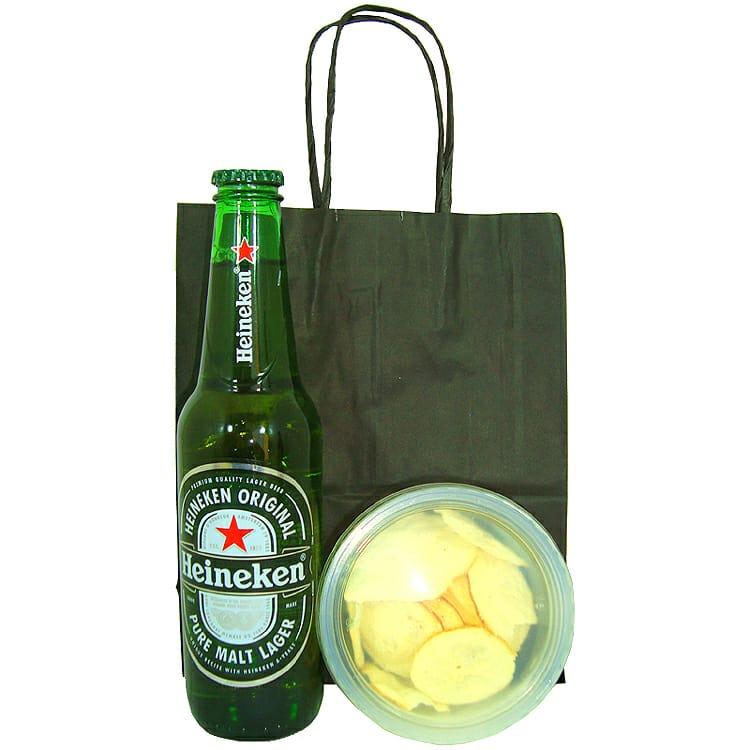 Heineken e Aperitivo Chips de Provolone