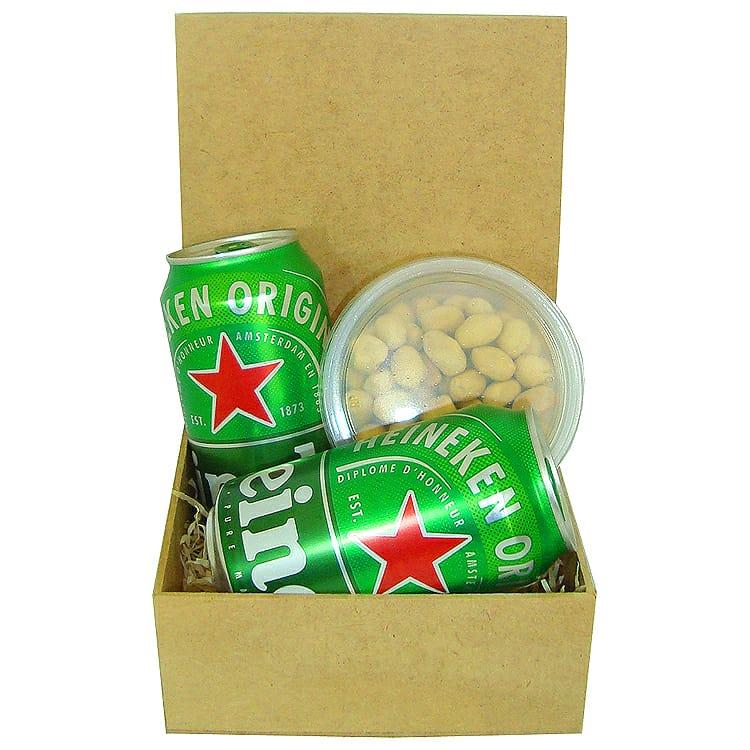 Caixinha surpresa com Heineken